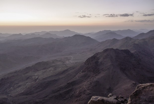 Mount Sinai Hike At Sunrise