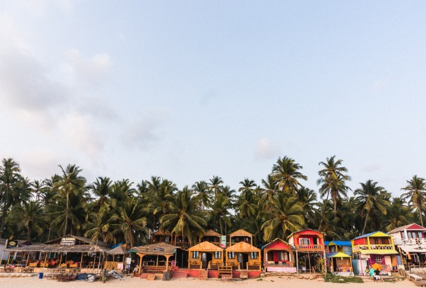 Palolem Restaurants and Beach Bungalows