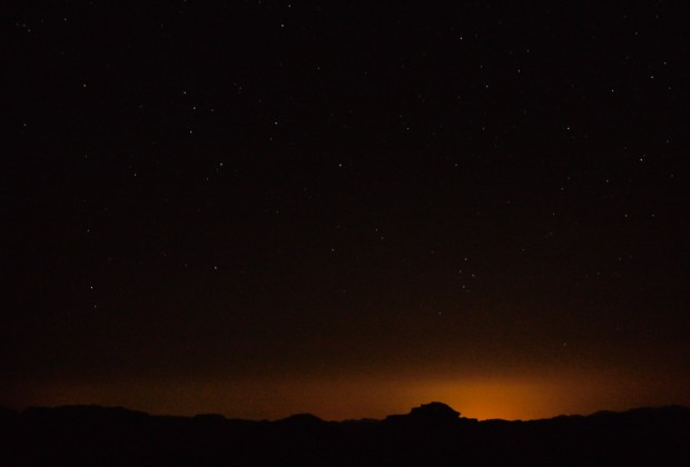 Wadi Rum Night Stars