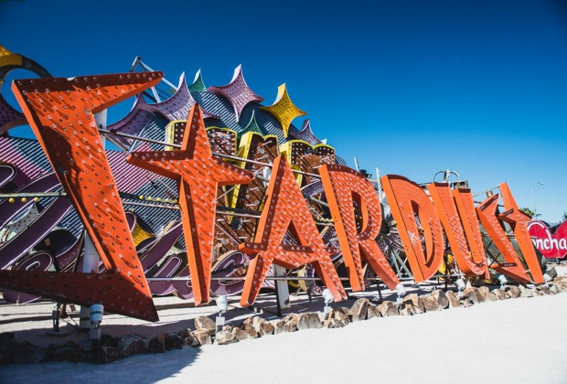 Old Stardust Sign Las Vegas Neon Museum